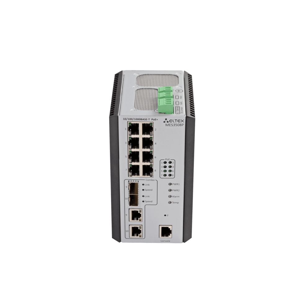 Промышленный коммутатор MES3508P