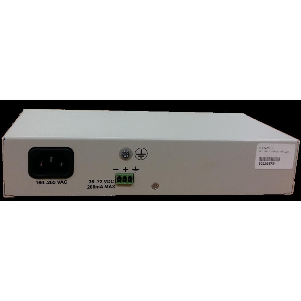 Оптический мультиплексор ToPGATE-4E1-2FG