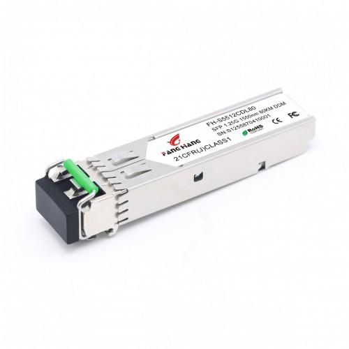 FH-S5512CDL80 | SFP 1,25 GE модуль, 80 км, SM, 2 волокна, 1550 нм, LC, DDM