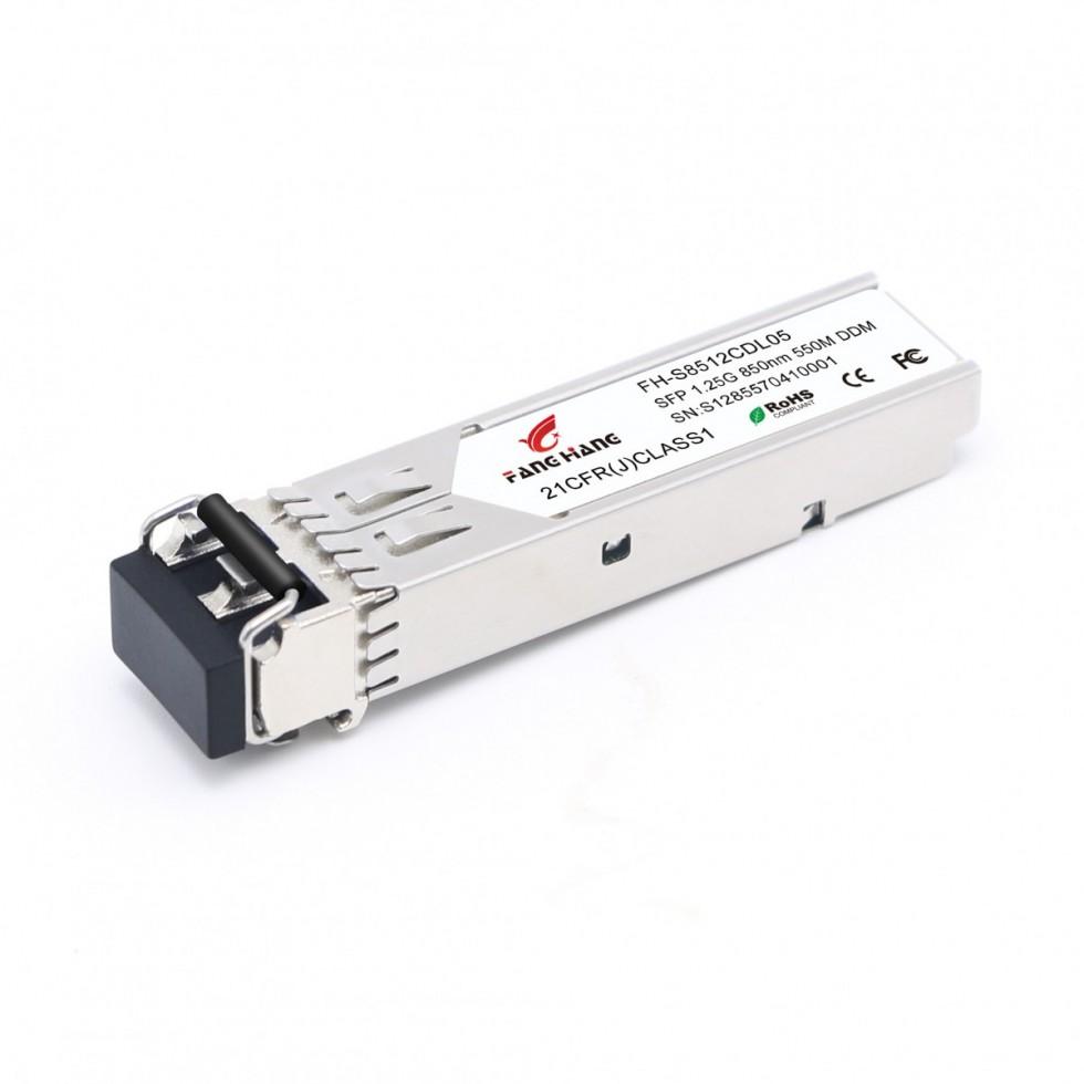 FH-S8512CDL05 | SFP 1,25 GE модуль, 550 метров, MM, 2 волокна, TX/RX 1310/1550 LC, DDM