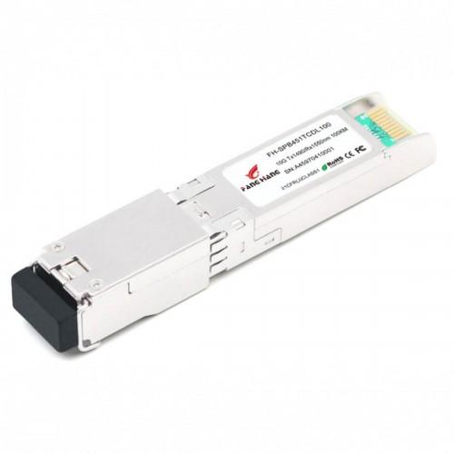FH-SPB451TCDL100 | SFP+ 10GE модуль 100 км, SM, 1 волокно,  TX/RX 1490/1550 LC, DDM