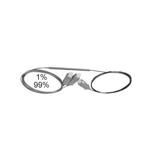 Оптический сплиттер FBT 1x2 1/99 0.9мм