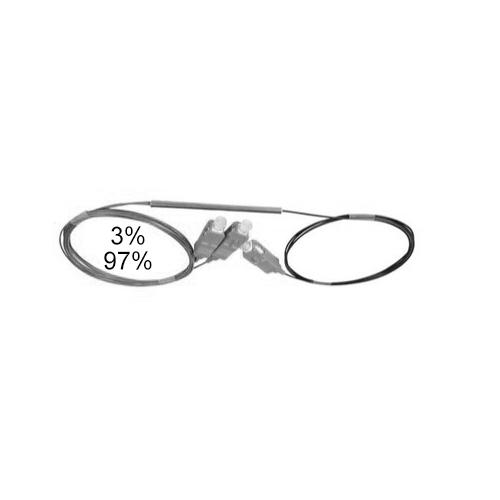 Оптический сплиттер FBT 1x2 3/97 0.9мм