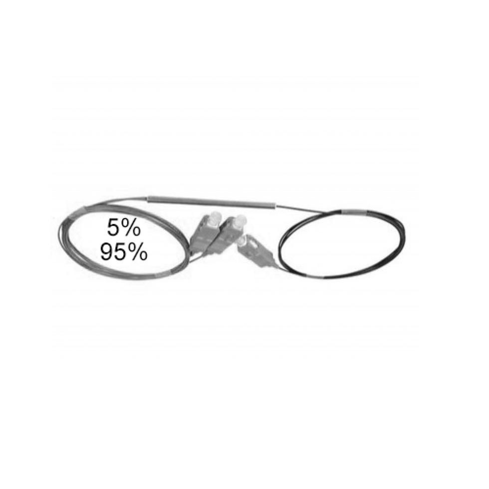 Оптический сплиттер FBT 1x2 5/95 0.9мм