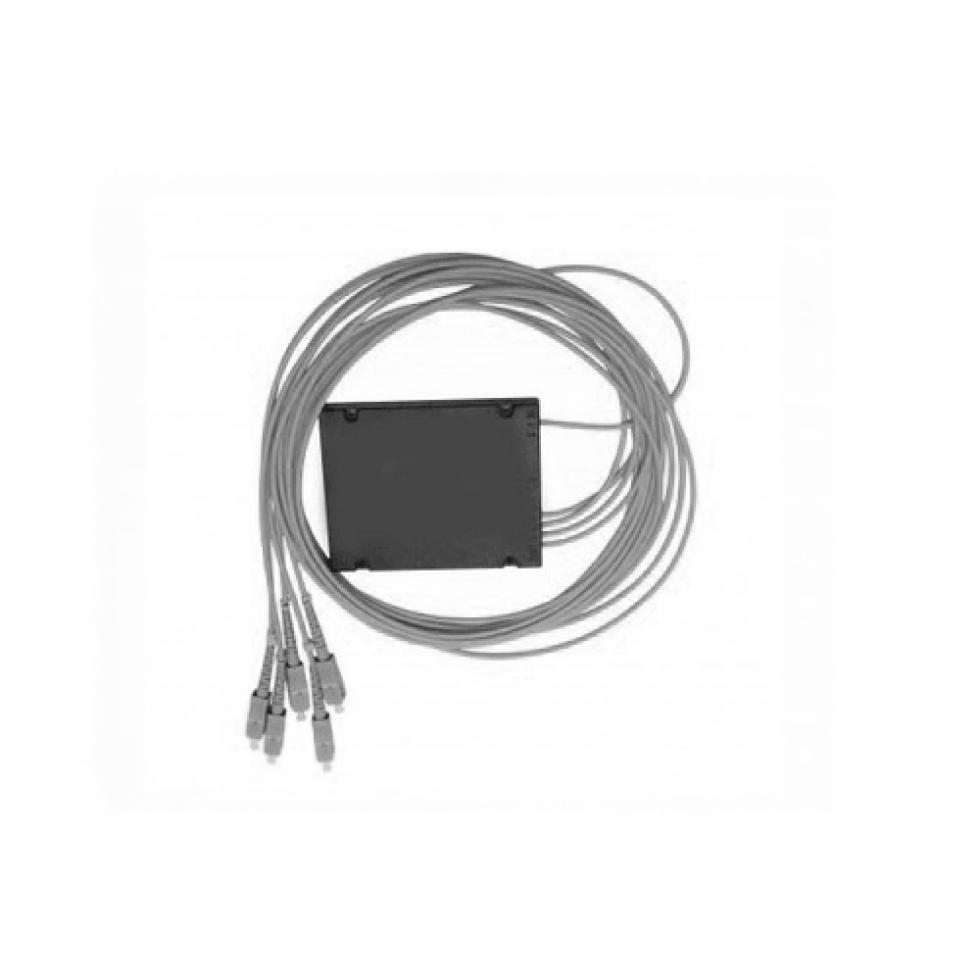 Оптический сплиттер PLC 1x4 3.0мм 5SC/APC