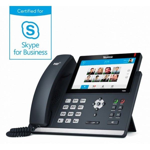 SIP-T48S для Skype for Business