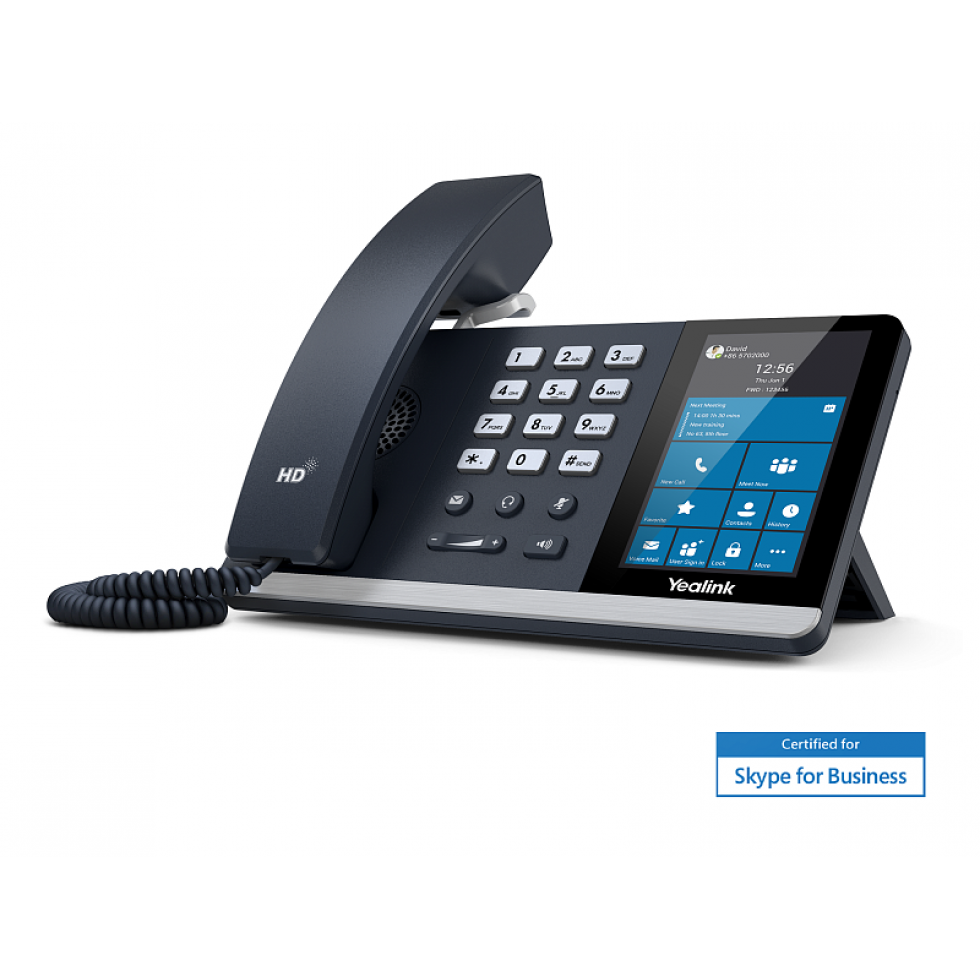 Yealink SIP-T55A для Skype for Business